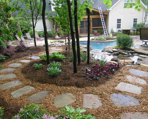 Cedar Chips Landscaping ~ Cedar chips home design ideas pictures remodel and decor