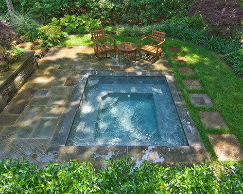 In Ground Hot Tub Home Design Ideas Pictures Remodel And