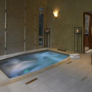 Photo of an asian pool in Boston.