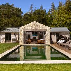 Mediterranean Pool by FGY Architects