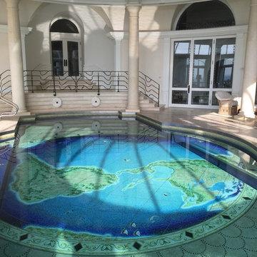 World Pool and Dance Floor
