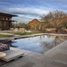 Contemporary Pool by Pebble Tec Superior Quality Pool Finishes