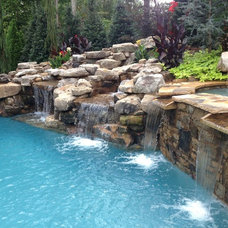Traditional Pool by Pebble Tec Superior Quality Pool Finishes