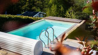 Wuppertal | Pool am Stadtrand mit Infinity Charakter