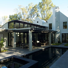 Contemporary Pool by Howard Design Studio