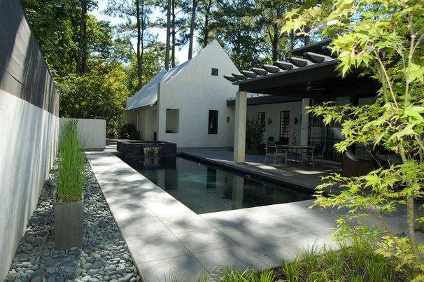 Modern Pool by Howard Design Studio