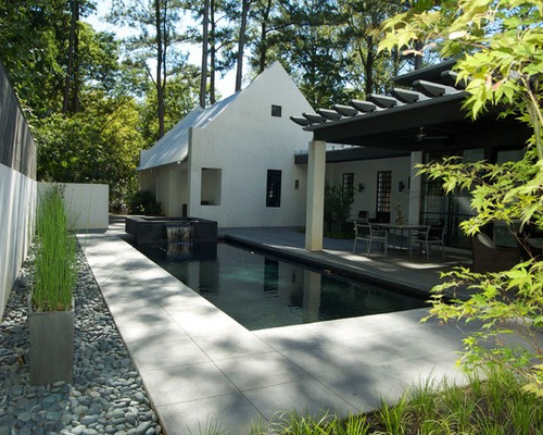 Stamped Concrete Around Pool Houzz