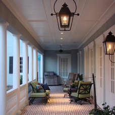 Traditional Porch by DvL Custom Concepts