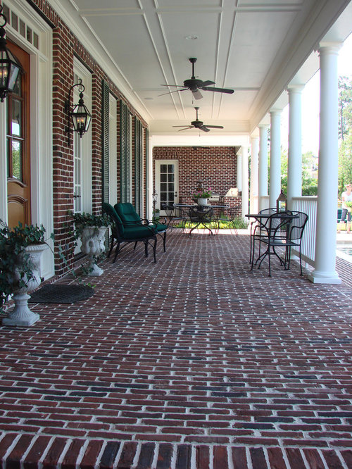 Brick Front Porch Home Design Ideas, Pictures, Remodel And