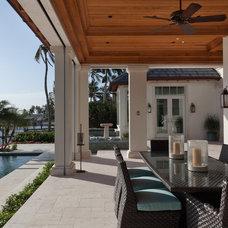 Contemporary Porch by Kukk Architecture & Design P.A.