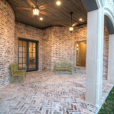 Traditional Porch by Ron Davis Custom Homes