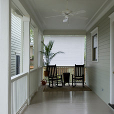 Traditional Porch by Creole Design