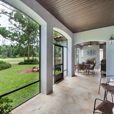 Traditional Porch by Emerald Coast Real Estate Photography