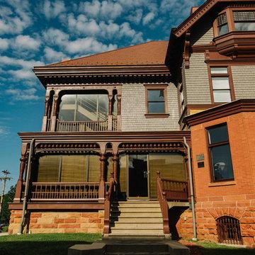 1861 Mansion Exterior Restoration