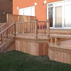 Traditional Porch by capitaldecks.ca