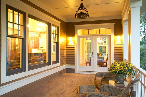 Traditional Porch by KGA Studio Architects