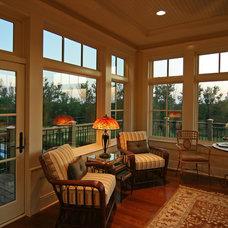 Traditional Porch by Charles Cudd De Novo, LLC