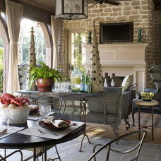 Traditional Porch by Period Homes, Inc.