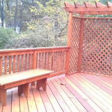 Contemporary Porch by Creative Abode LLC