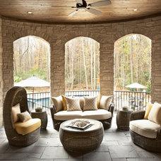 Traditional Porch by Milestone Custom Homes