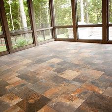 Traditional Porch by Stewart Flooring, Inc.