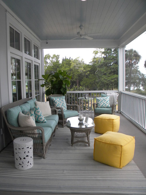 2013 coastal living showhouse for Beach porch ideas