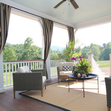 Traditional Porch by Summit Custom Homes