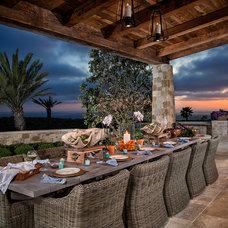 Mediterranean Porch by Homer Oatman, AIA