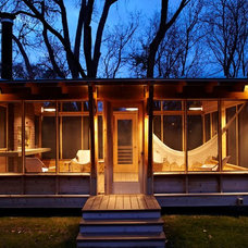 Modern Porch by Home Tailors Building & Remodeling