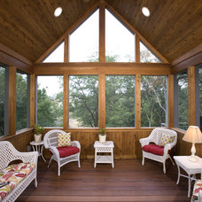 Rustic Porch by John Kraemer & Sons