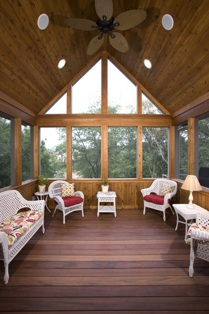 Traditional Porch by John Kraemer & Sons