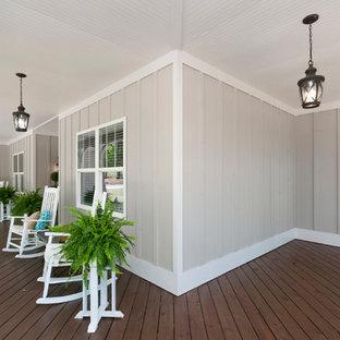 Inspiration for a craftsman porch remodel in Atlanta