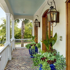 Traditional Porch by Cobb Architects