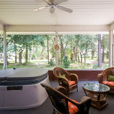 Traditional Porch by Staging & ReDesign