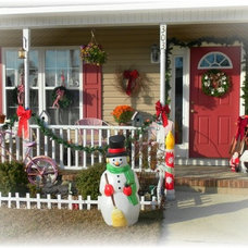 Eclectic Porch by Lisa's Creative Designs