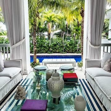A fashion designer's home
