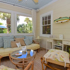 Porches Beach Style Porch Charleston By Our Town Plans