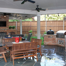 Traditional Porch by Kasper Custom Remodeling, LLC