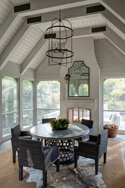 Traditional Porch by Fraerman Associates Architecture