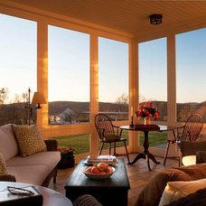 Farmhouse Porch by John B. Murray Architect