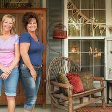Eclectic Porch by Julie Ranee Photography