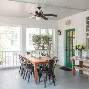 A Porch & Backyard Perfect for Entertaining