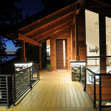 Contemporary Porch by Signature Design & Cabinetry LLC