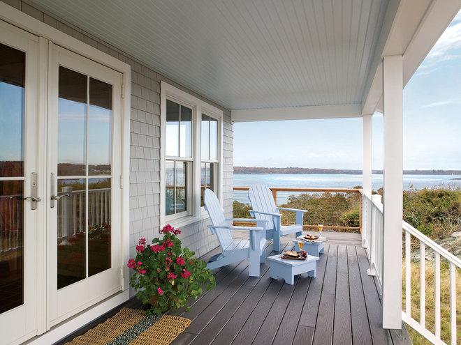 Beach Style Porch by Andersen Windows + Doors