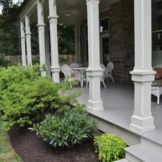 Traditional Porch by Burke Brothers Landscape Design/Build