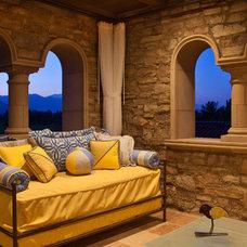 Mediterranean Deck by South Coast Architects, Inc.