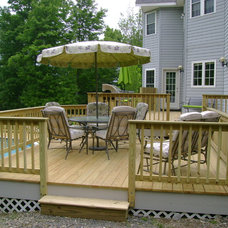 Traditional Porch by Classic Homes by Brian K. Smith, Inc.