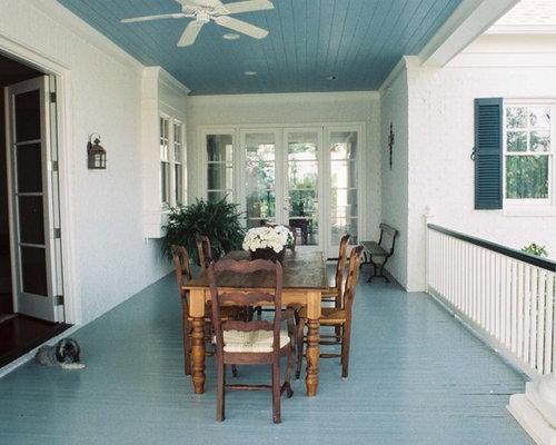 Painted Porch Floor Houzz