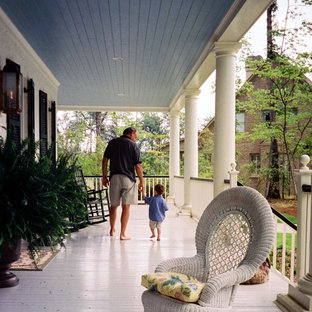 Inspiration for a victorian porch remodel in Birmingham