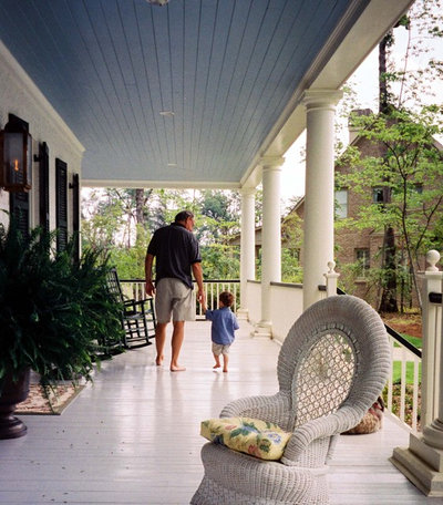 Victorian Porch by Soorikian Architecture